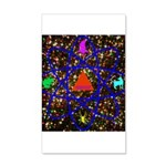 Science Pyramid Graphic 20x12 Wall Decal