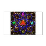 Science Pyramid Graphic Car Magnet 20 x 12