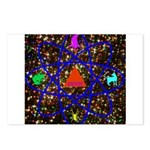 Science Pyramid Graphic Postcards (Package of 8)