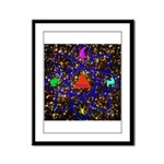 Science Pyramid Graphic Framed Panel Print