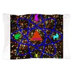 Science Pyramid Graphic Pillow Case