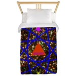 Science Pyramid Graphic Twin Duvet