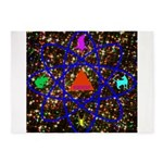 Science Pyramid Graphic 5'x7'Area Rug
