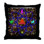 Science Pyramid Graphic Throw Pillow