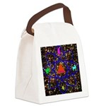 Science Pyramid Graphic Canvas Lunch Bag