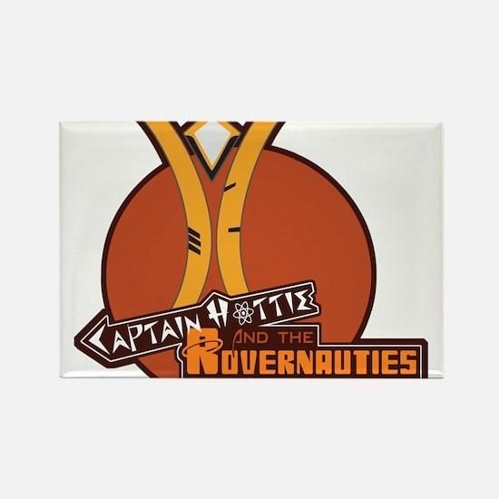 Captain Hottie & The Rovernauties Rectangle Magnet