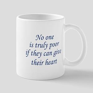 Give Their Heart Mug