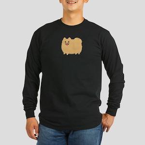 Pomeranian Long Sleeve Dark T-Shirt
