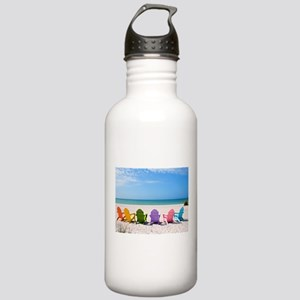 Summer Beach Water Bottle