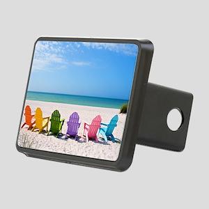 Summer Beach Hitch Cover