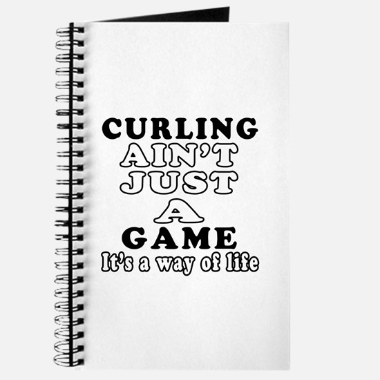 Curling ain't just a game Journal