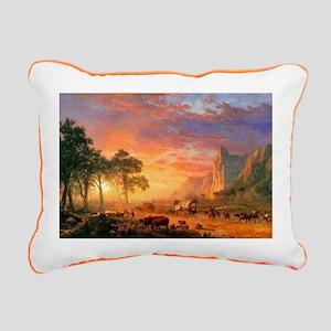 Oregon Trail Rectangular Canvas Pillow