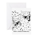 Science Cartoon 7146 Greeting Cards (Pk of 10)