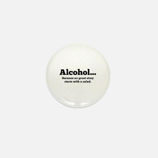 Alcohol Mini Button