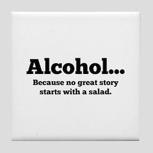 Alcohol Tile Coaster
