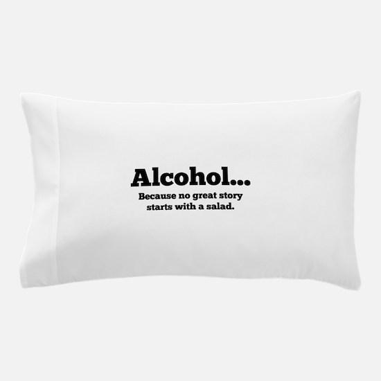Alcohol Pillow Case