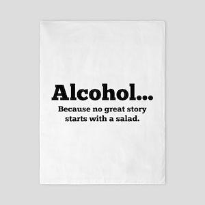 Alcohol Twin Duvet