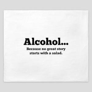 Alcohol King Duvet