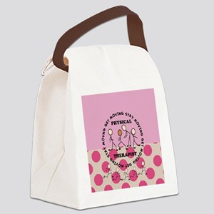 physical therapist pillow 3 Canvas Lunch Bag