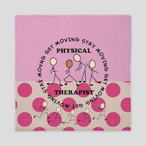 physical therapist pillow 3 Queen Duvet