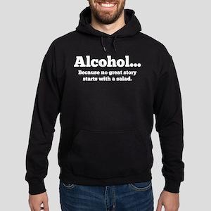 Alcohol Hoodie (dark)