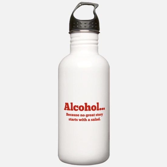 Alcohol Water Bottle