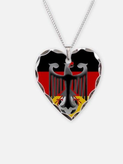 German Soccer Flag Necklace