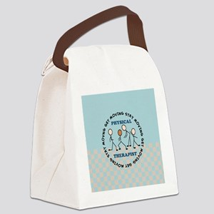 physical therapist pillow 2 Canvas Lunch Bag