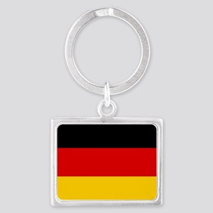 Flag of Germany Landscape Keychain