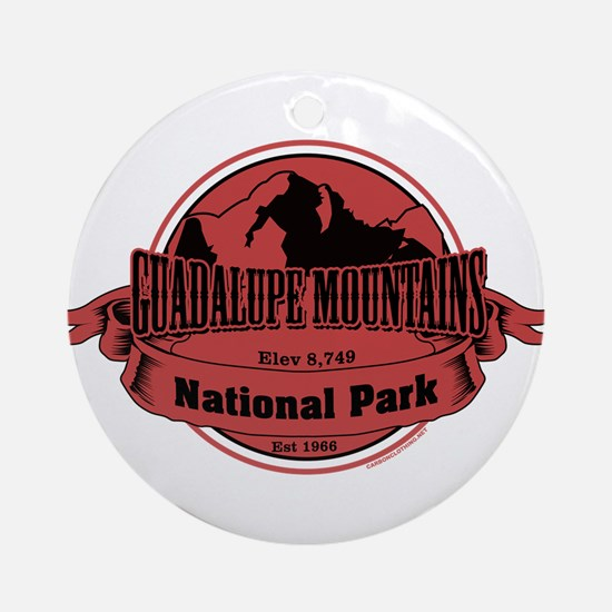 guadalupe mountains 3 Ornament (Round)