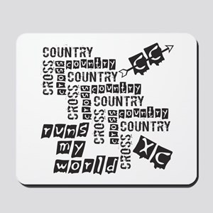 Cross Country Runs Mousepad