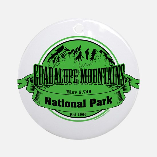 guadalupe mountains 2 Ornament (Round)