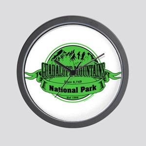 guadalupe mountains 2 Wall Clock