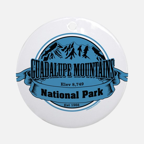 guadalupe mountains 1 Ornament (Round)