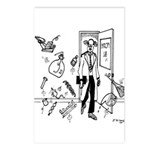 Entropy Cartoon 2791 Postcards (Package of 8)