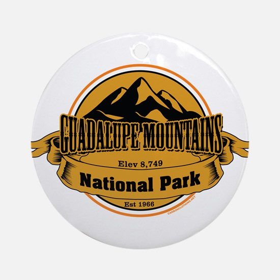 guadalupe mountains 4 Ornament (Round)