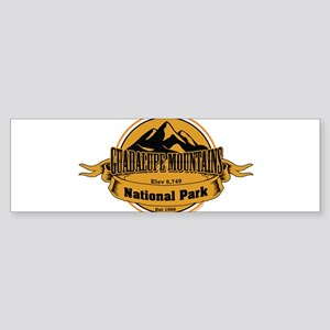 guadalupe mountains 4 Bumper Sticker