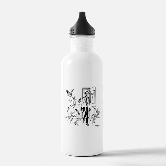 Entropy Cartoon 2791 Water Bottle