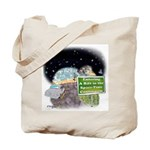 Zero Lines Name Tote Bag