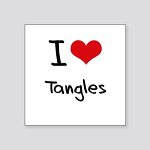 I love Tangles Sticker