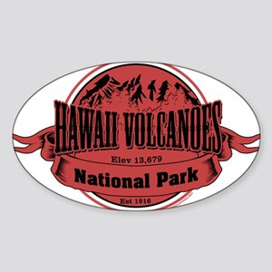 hawaii volcanoes 2 Sticker