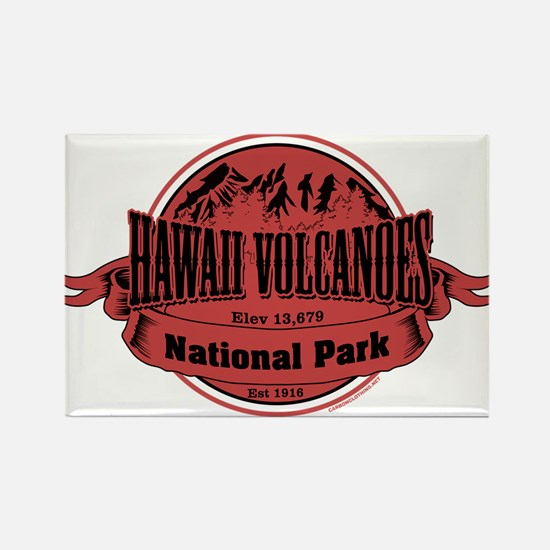 hawaii volcanoes 2 Rectangle Magnet
