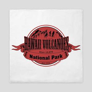 hawaii volcanoes 2 Queen Duvet