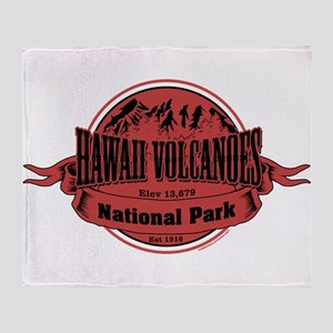 hawaii volcanoes 2 Throw Blanket