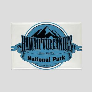 hawaii volcanoes 4 Rectangle Magnet
