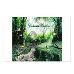 enchanted kingdom Postcards (Package of 8)