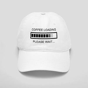 Coffee Loading Please Wait Cap