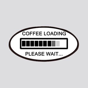 Coffee Loading Please Wait Patches