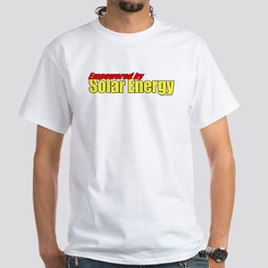 Empowered by Solar Energy White T-Shirt