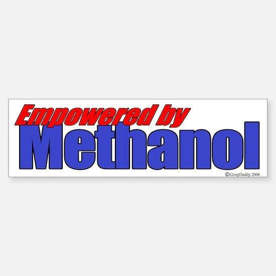 Empowered by Methanol Bumper Bumper Bumper Sticker